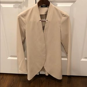 Fitted Long Fashion Blazer